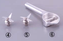 Replacement blade parts
