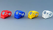 Color Tube Clamp M (PP)