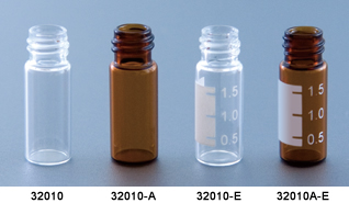 Wide neck screw Vial