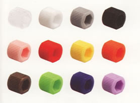 Color-Sleeve fingertight adapters