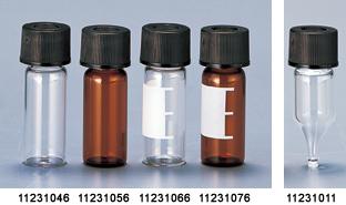 Full Assemble Standard Vial with Shimadzu Black Cap