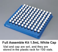 Full Assemble 1.5mL Wide Neck Vial