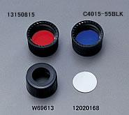 Black Screw Cap with Septa 13-425